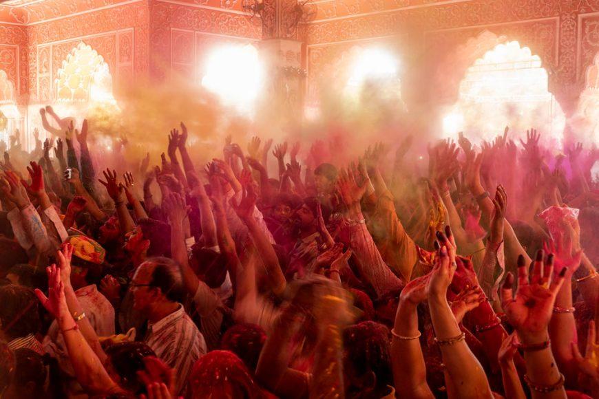 Holi Festivalinde Hindistan Seyahati