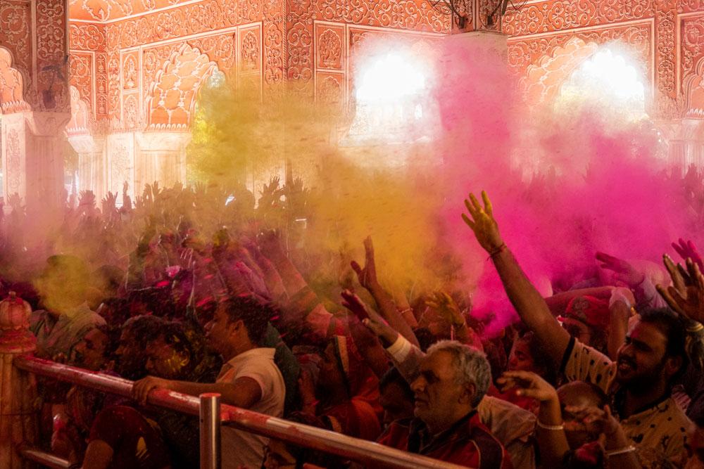 Holi Festivalinde Hindistan