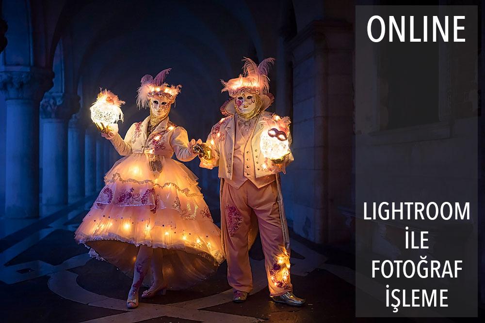 Online Lightroom ile Fotoğraf İşleme Atölyesi