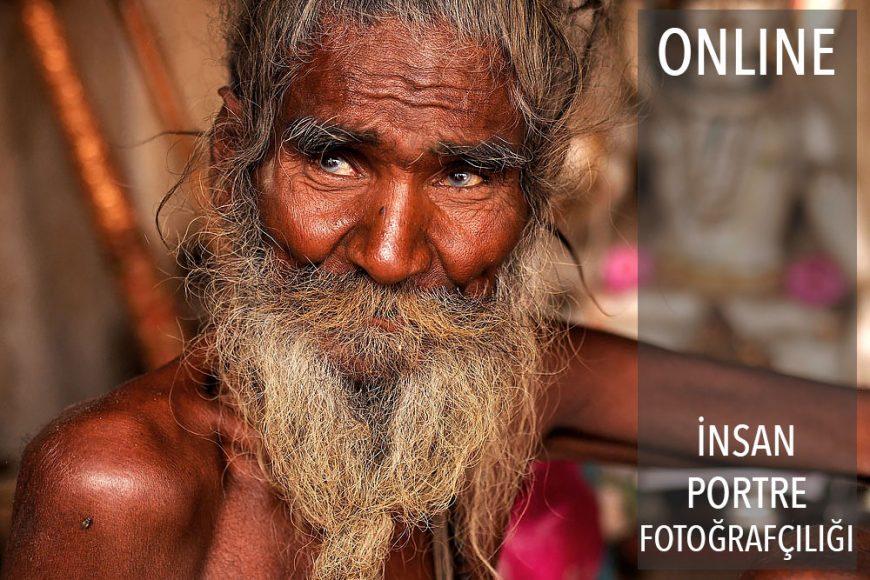 Online İnsan ve Portre Fotoğrafçılığı Atölyesi